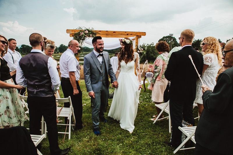 Rustrykalny ślub w starym tartaku!