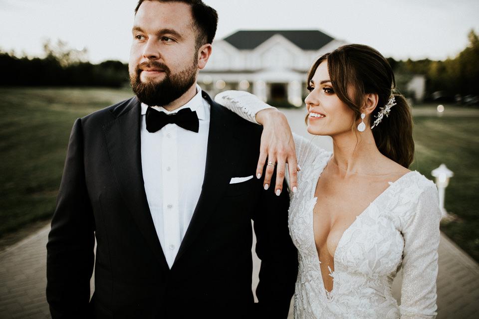 Rezydencja Miętowe Wzgórza | wesele w prestiżowym stylu | fotograf ślubny Warszawa