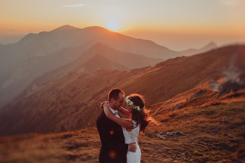 Sesja ślubna w Tatrach, Kasprowy Wierch, Zakopane! | Karolina & Michał, sesja ślubna w górach!