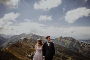 Sesja plenerowa w górach, piękne widoki i siła natury | Zakopane, Kasprowy Wierch, Asia i Borys