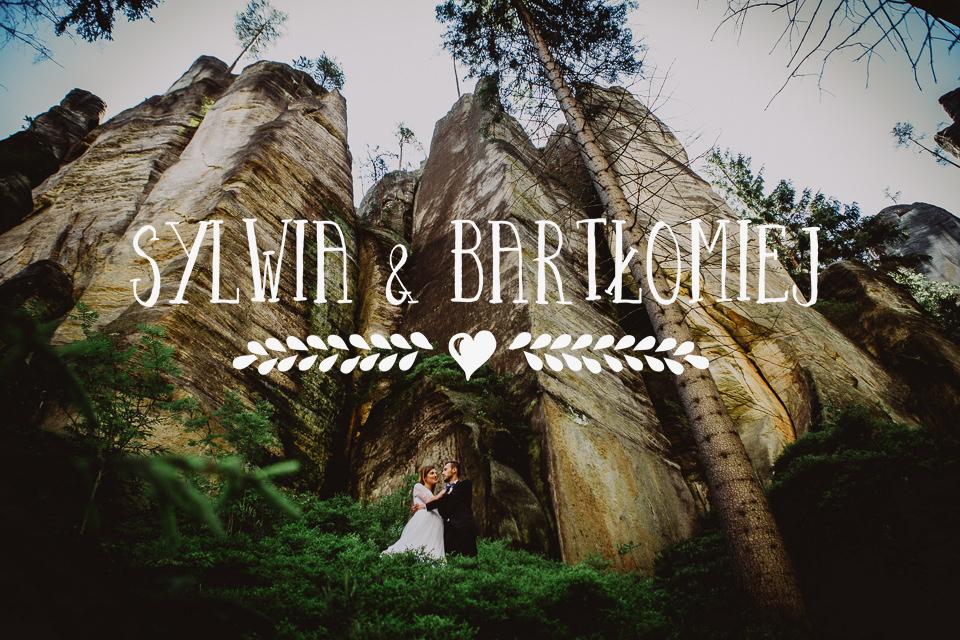 Plener ślubny w Skalnym Mieście | ślub w górach, naturalne zdjęcia ślubne, fotograf Kraków
