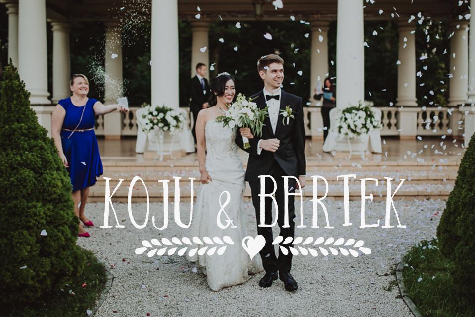 Urokliwy polsko-japoński ślub w Pałacyku Otrębusy pod Warszawą | Koju & Bartek, fotografia ślubna ma