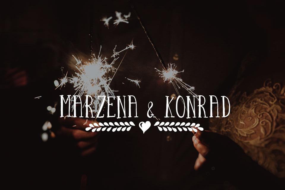 Ślub w pięknym Dworku w Bielsku-Białej! Magiczne wesele pełne emocji. | Marzena & Konrad