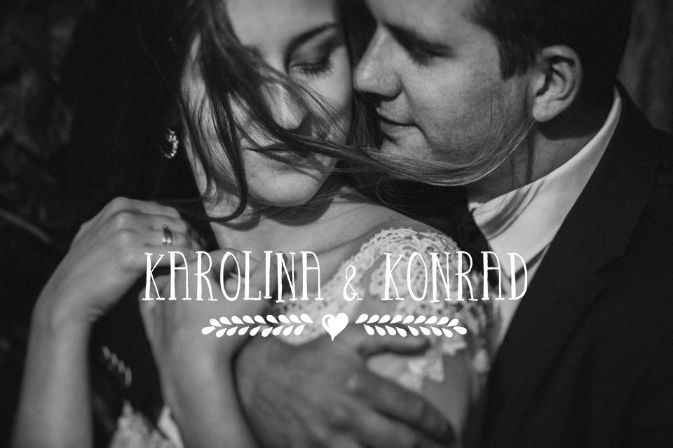 Wesele w gościńcu Czarny Las, wesele Wolbrom | Karolina & Konrad