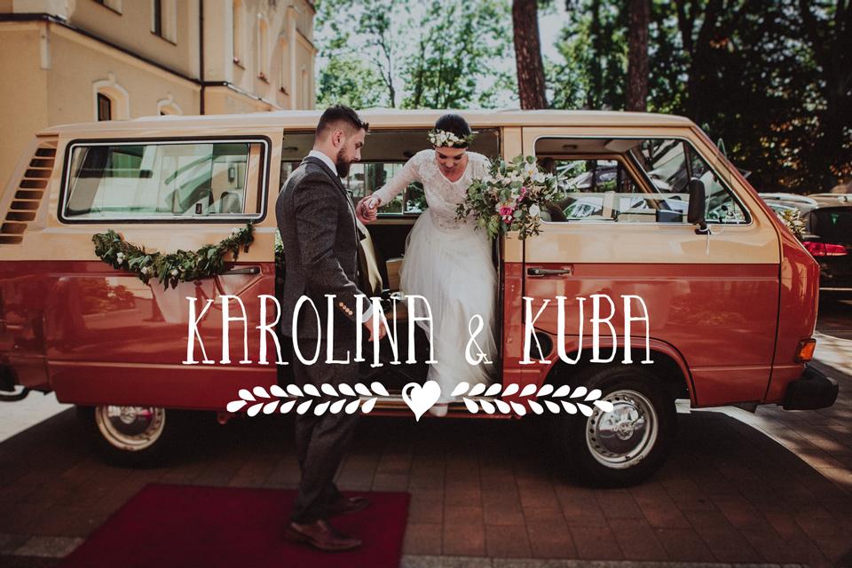 Wesele w hotelu Dąbrówka, starym Volkswagenem do ślubu! | Jastrzębie Zdrój, wesele na śląsku